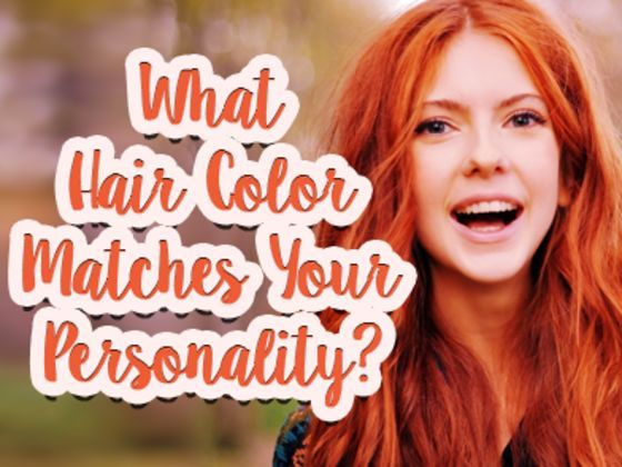 Should your hair be pink or purple? Take this fun quiz to find out now! I GOT BLUE!