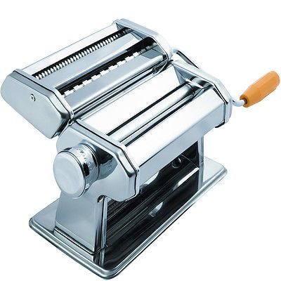 Inspirational Stainless Steel Fresh Pasta Maker Roller Machine for Spaghetti Noodle Fettuccine