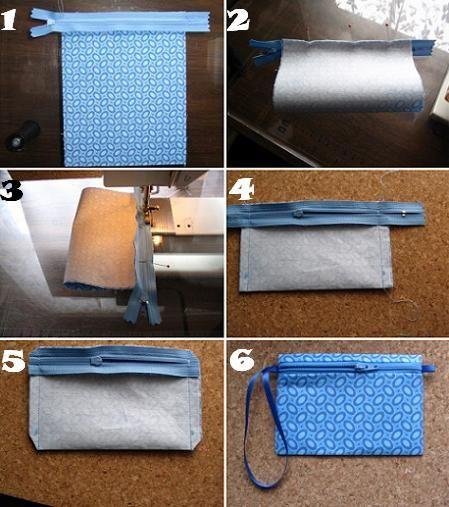 como hacer un bolso de tela
