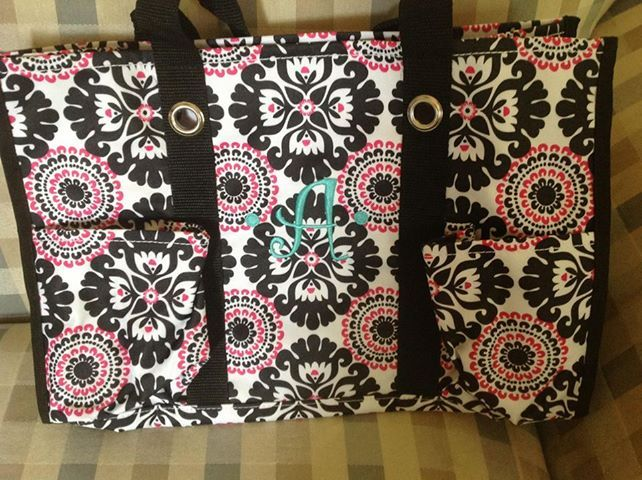 My girl's beautiful diaper bag from their daddy:) ~ Jennifer Tilley Congratulations to Jennifer Tilley!  She has just recently joined the Thirty-One family.  She is the very first consultant to join my team.  YEAH Jennifer!