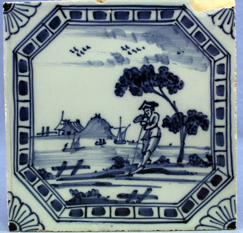 Liverpool delft tile, circa 1770 More stock available at www.martynedgell.com or follow us at www.facebook.com/martynedgellantiques