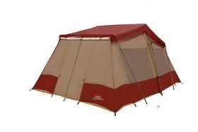 Trek Tents Three Room Cabin Tent - 10' x 16', 8-10 people
