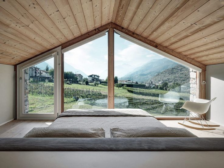 SV House: interpretazione in chiave contemporanea dell'architettura rurale valtellinese