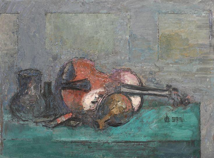 Natura statica cu vioara, Alexandru Ciucurencu