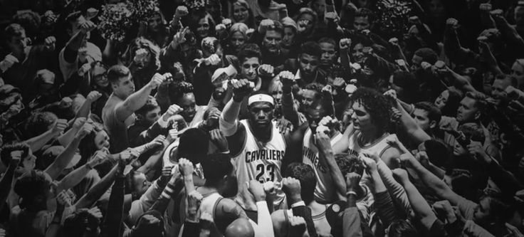 """Read more: https://www.luerzersarchive.com/en/magazine/commercial-detail/nike-59401.html Nike Nike: """"Together""""# The decision by NBA legend LeBron James to return to the Cleveland Cavaliers goes down well with the locals. More and more people are to be found in and around the stadium to support LeBron and his team in the decisive championship clincher. A spot for sports apparel brand Nike. Tags: Nike,The Malloys,Ryan O'Rourke,Alberto Ponte,Jordan Dinwiddie,H.S.I.,Wieden + Kennedy…"""