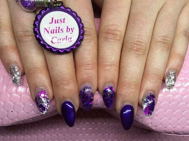 Purple Please By Justnailsnz Nail Art Gallery