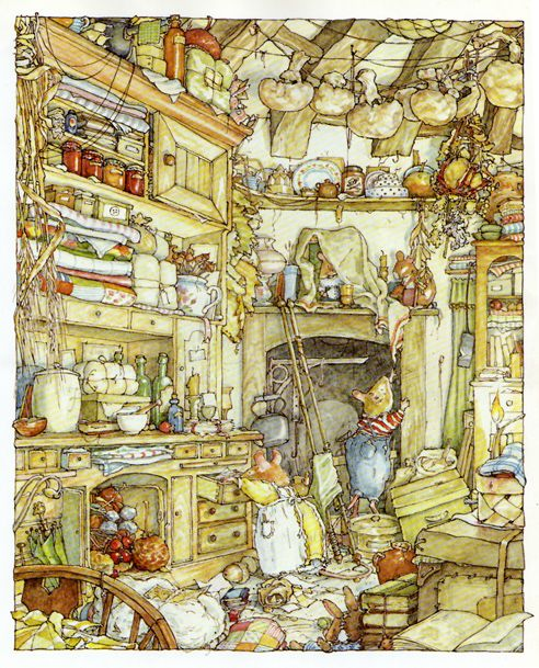 Brambly Hedge again! - These wonderfully illustrated books are great for children and for collectors like myself of children's illustrations. If you have children in your life, give them the gift of these books.