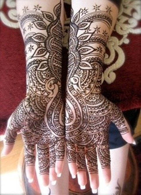 Bridal Mehndi Designs For Hands And Feet 2014 Images 018