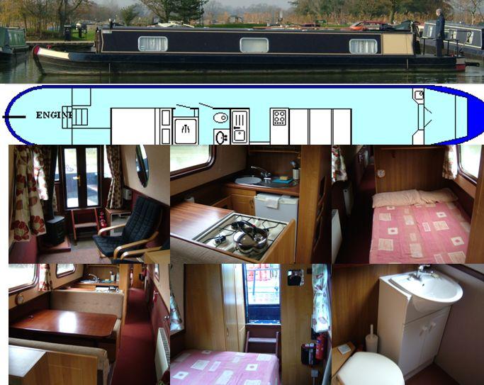 SOLD  STELLA 2005 52FT PRO BUILD CRUISER £44,950 www.calcuttboats.com SOLD