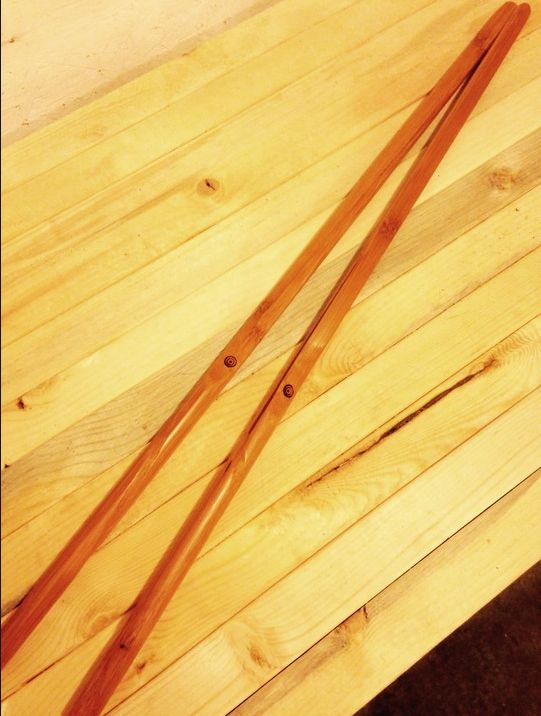 Flat Bamboo Canes www.alexanderspaddles.com