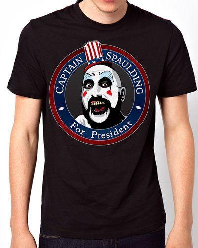 iOffer: New T-Shirt Captain Spaulding Devils Men Short Sleeve for sale