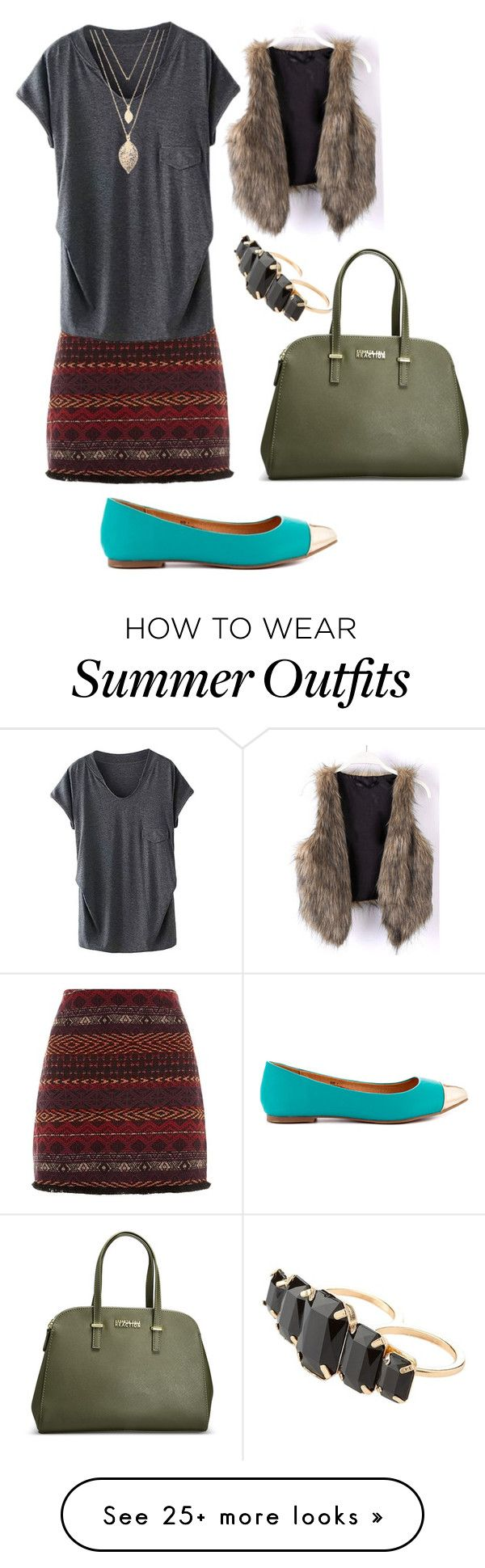 """New outfit with tights and long sleeve undershirt"" by kelly-kristine on Polyvore featuring Restricted, Forever 21, Charlotte Russe and Avenue"