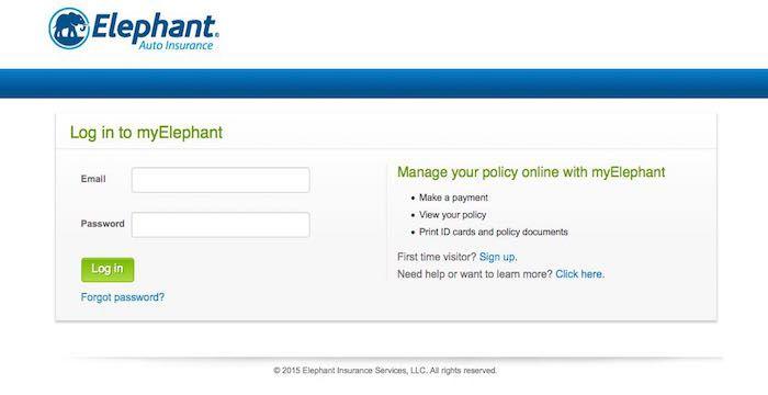 Elephant Insurance Bill Pay