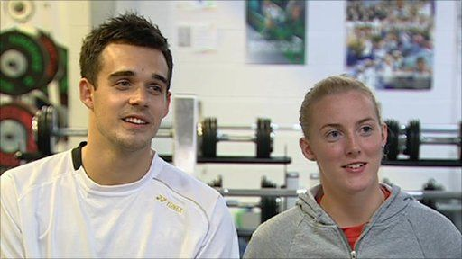 World championship silver medallists Imogen Bankier and Chris Adcock say they hope their success will help safeguard the future of UK badminton.