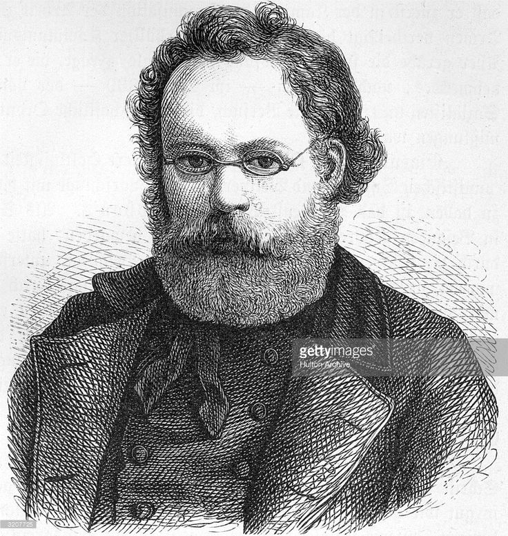 Pierre-Joseph Proudhon (1809-1865). French Socialist journalist. Known as 'the father of anarchism,' active in the Socialist movement in Paris from 1848, founded and edited three radical journals, exiled 1858-62, wrote many books including 'What is Ownership' 1840 and 'The Philosophy of Poverty' 1846.