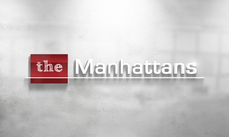 The Manhattans Logo Design