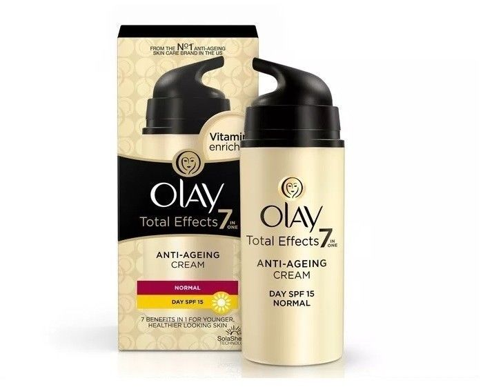 Olay Anti Ageing Total Efftects 7 in 1 day Cream (Pack of 2) 20 Gram Each #Olay