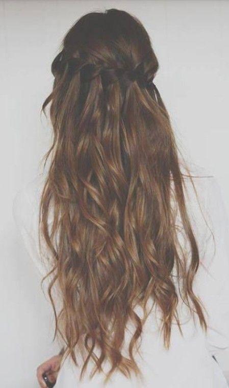Mejores 8 im genes de peinados para melenas largas en - Peinados de melenas largas ...