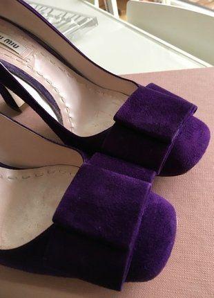 À vendre sur #vintedfrance ! http://www.vinted.fr/chaussures-femmes/escarpins-and-talons/28133034-escarpins-miu-miu