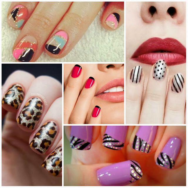 Mejores 50 imágenes de :-) Uñas creativas en Pinterest   La uña ...