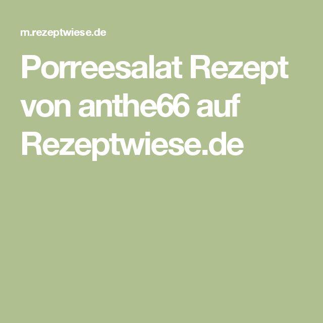 Porreesalat Rezept von anthe66 auf Rezeptwiese.de