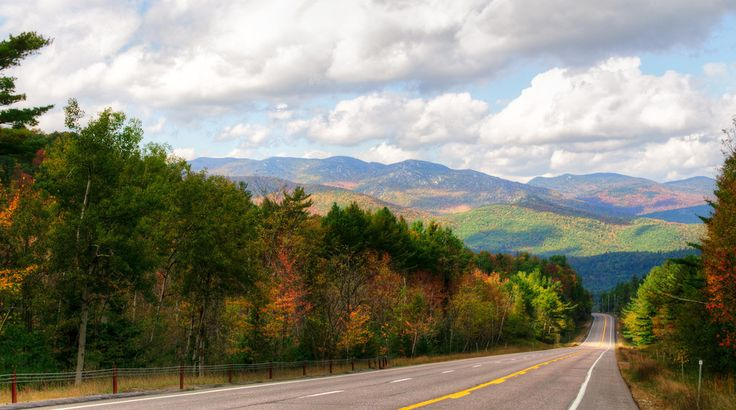 A view of the High Peaks from the road | 22 Overwhelmingly Beautiful Photos Of The Adirondacks