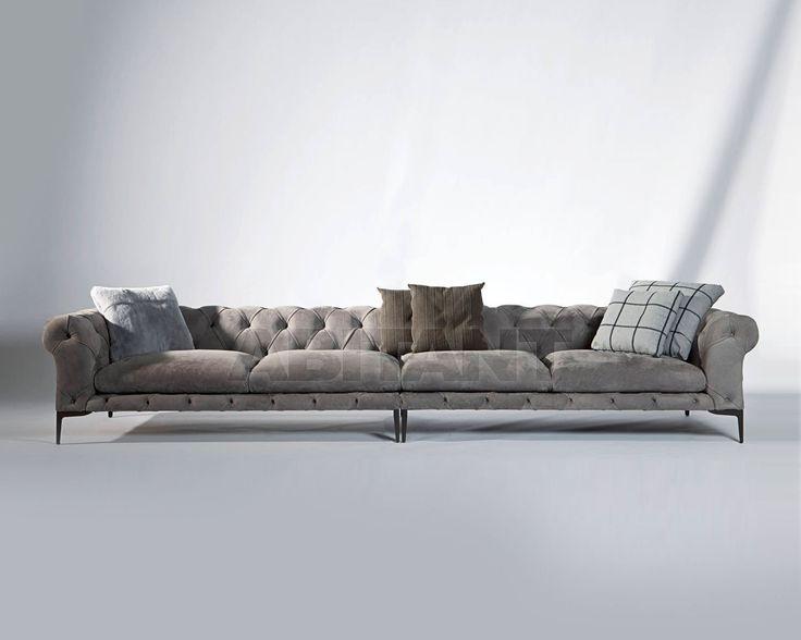 Диван HARRISON темно-серый Valdichienti 280100, Каталог мягкой мебели ABITANT Москва