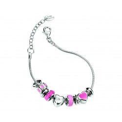 D for diamond silver Charm Bead Bracelet #christening #kids #jewellery