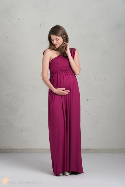 long maternity bridesmaid dress ♥️ Langes Brautjungfernkleid für Schwangere / Umstandskleid für Bratjungfern