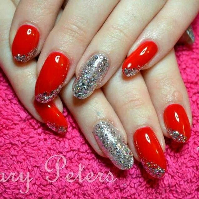Gelish uv polish on natural nails. www.facebook.com/marypetersallthingsbeauty