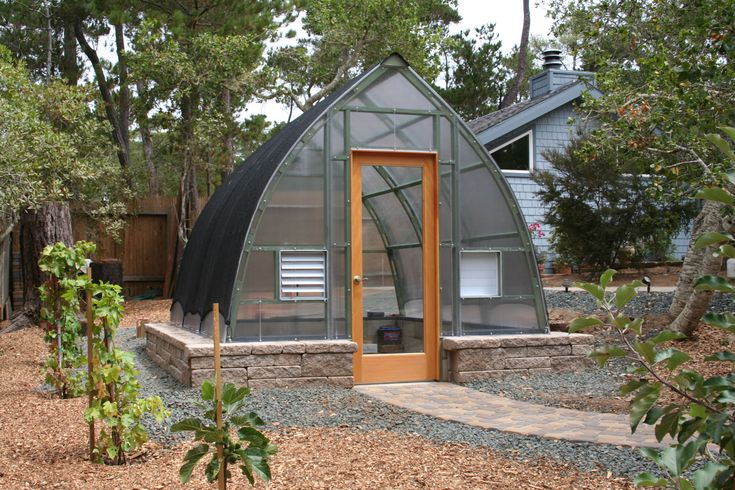 Gothic Arch Greenhouse.4097