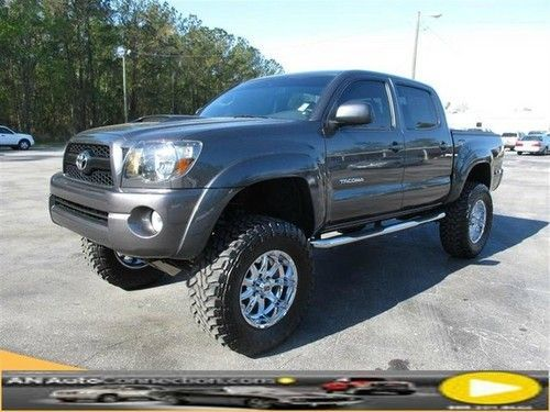 Wheels on toyota tacoma | Sell used Toyota Tacoma Crew with Lift and Premium Wheels 4WD in Tampa ...
