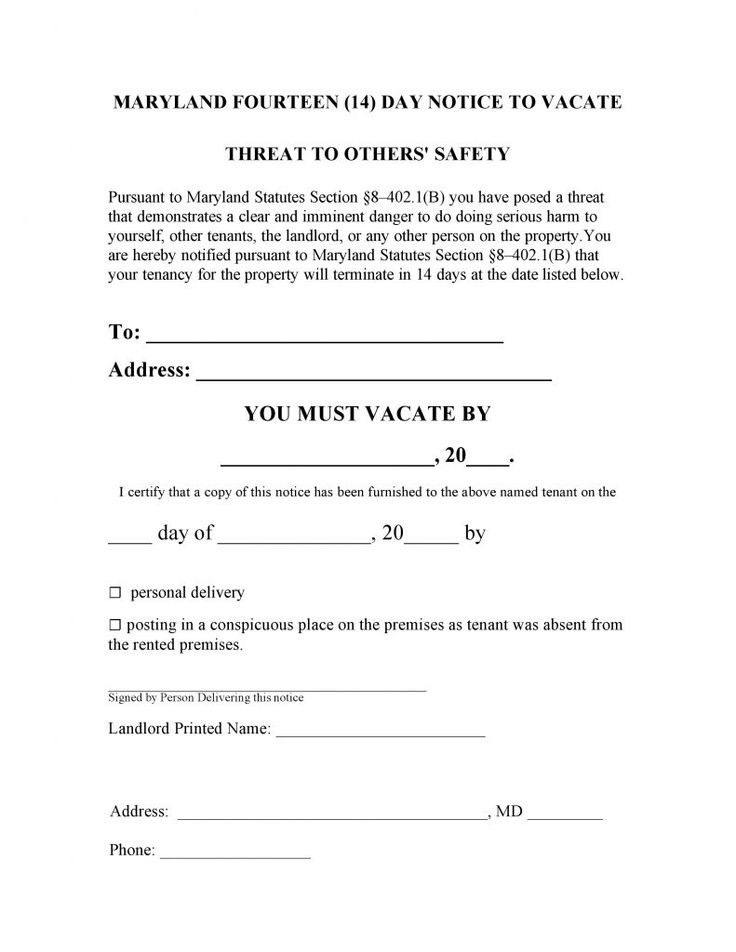 10 best Eviction Notice images on Pinterest Eviction notice, Pdf - notice to vacate letter