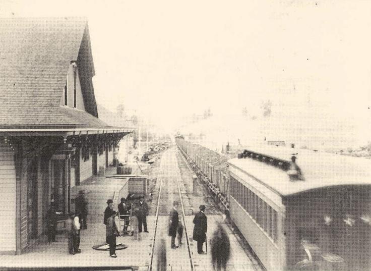 1880 Puyallup Depot Historic Puyallup Pinterest