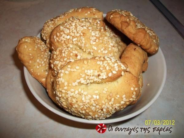 Ladokouloura (olive oil cookies) from Skala, Lakonia #cooklikegreeks