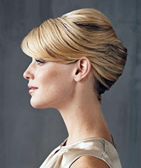Medium length classic hairstyles for wedding