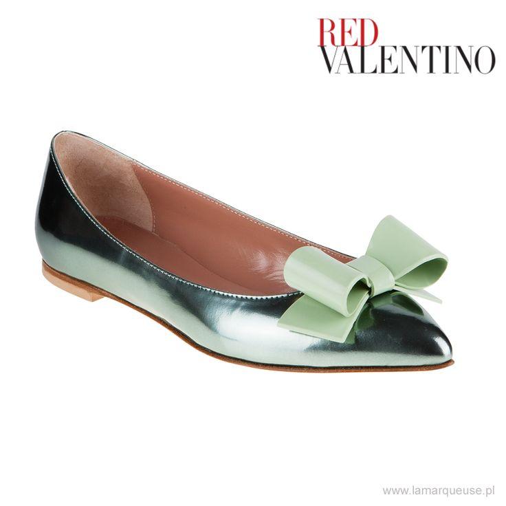 Baleriny Red Valentino ...: #baleriny #RedValentino #LaMarqueuse #trends #trendy #buty #shoes:...