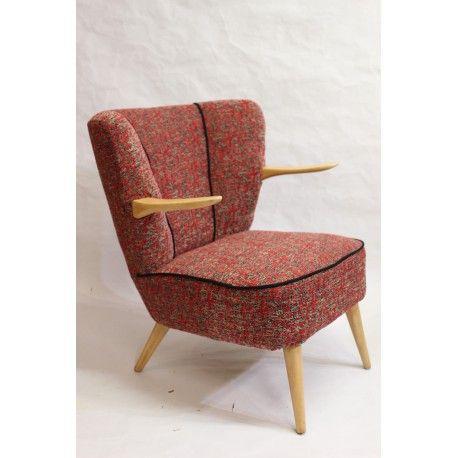fauteuils vintage ann e 60 fauteuil vintage ann es 60 et vintage design. Black Bedroom Furniture Sets. Home Design Ideas