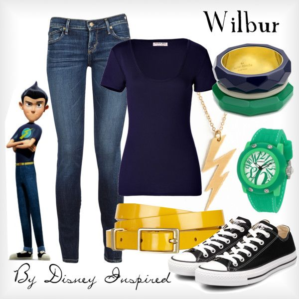 """""""Wilbur - from Disney's Meet the Robinsons"""" by elliekayba on Polyvore"""