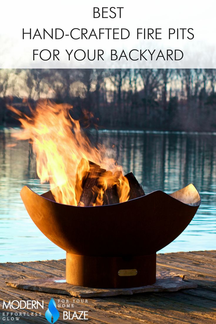 13 best best hand crafted fire pits for your backyard images on