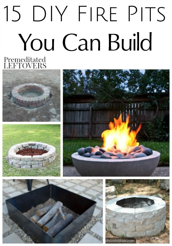 17 best inexpensive backyard ideas on pinterest for Cheap easy fire pit ideas