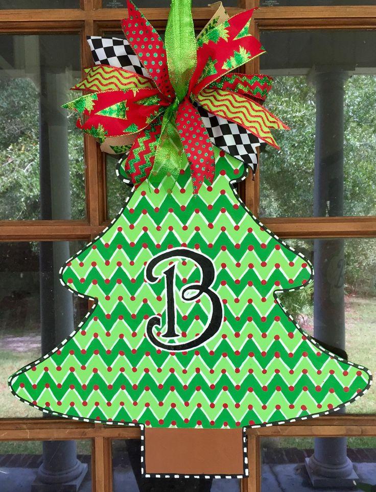 55 best Christmas Tree Door Hangers images on Pinterest - healthcare door hanger