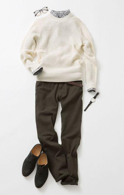ニットは秋冬のおしゃれの要。一枚でもサマになるし肩掛けしてもいい。素材や色違いで揃えておけば手持ちのアウターも多彩に着こなせます。だから今季ユニクロは定番人気のセーターをさらにアップデート。カラバリも豊富に揃えた、いつも以上に充実のラインナップです!ニットで魅せるワンランク上の着こなしを、今年は楽しみませんか?人気のカシミヤ100%セーターにトレンドのモックネックが登場!ふっくらと優しい極上の肌ざ...