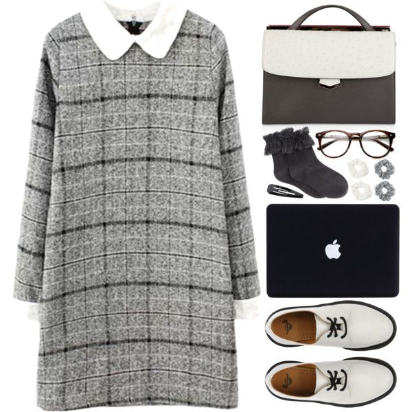 TYF18K!!! by tmizzle on Polyvore featuring Hue, Dr. Martens, Fendi, Forever 21 and Natasha Couture