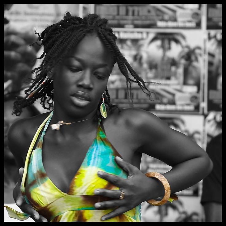 danseuse de gwo ka