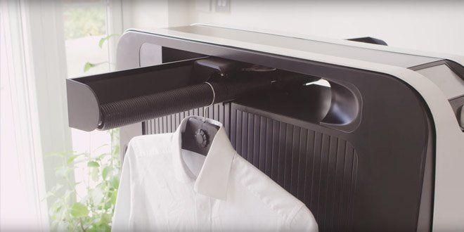 #Noticias - Plancha tu ropa de forma automática con el gadget Efiie #Tecnología