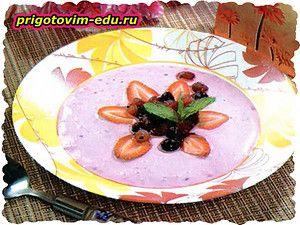 Суп «Творожно-фруктовый»