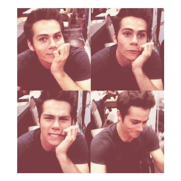 Dylan O'Brien Things I love #2! ❤ liked on Polyvore featuring dylan o'brien, teen wolf, dylan, icons and pics