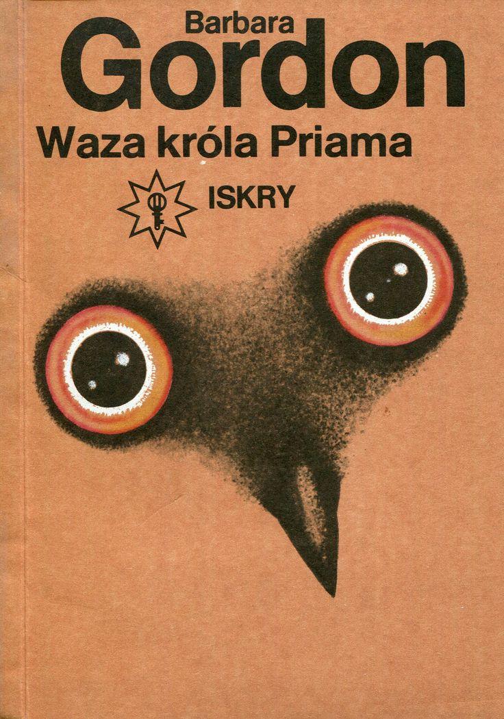 """""""Waza króla Priama"""" Barbara Gordon Cover by Wiesław Rosocha Book series Klub Złotego Klucza Published by Wydawnictwo Iskry 1989"""