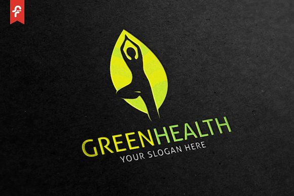 Green Health Logo - Logos